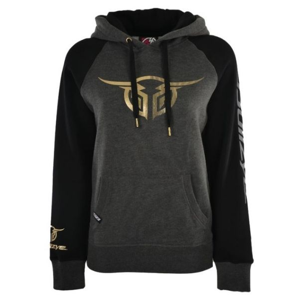 Bullzye Womens Authentic Pullover Hoodie