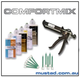Comfort Mix Start Up Pack - Plus Gun/Tip