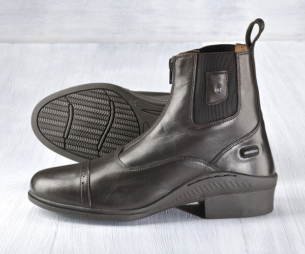 EQ Wear Genesis Paddock Boot Chocolate