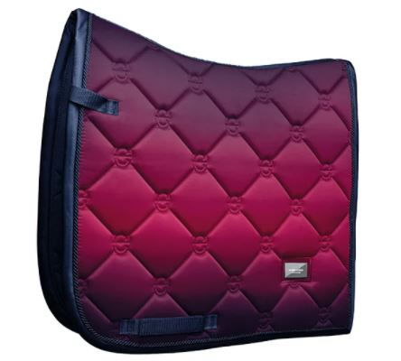 Equestrian Stockholm Dressage Saddle Pad Faded Fuchsia