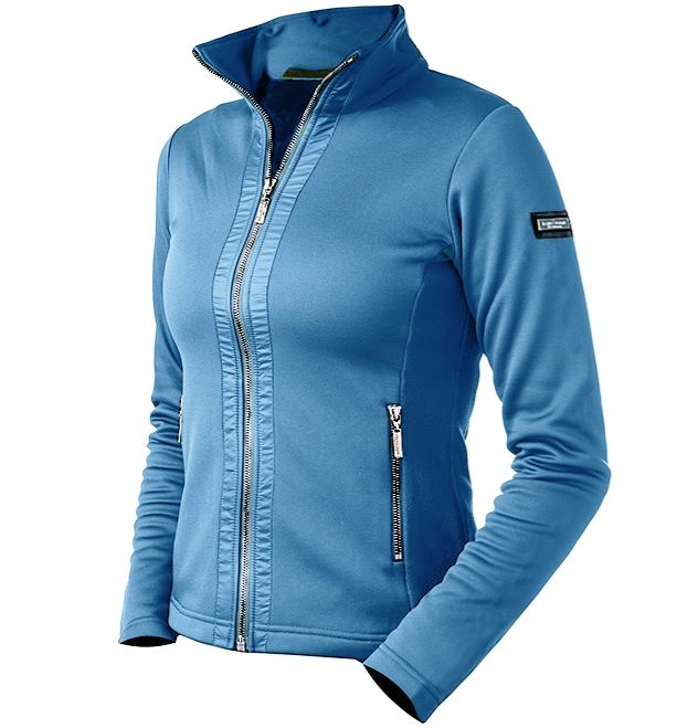 Equestrian Stockholm Fleece Jacket Parisian Blue