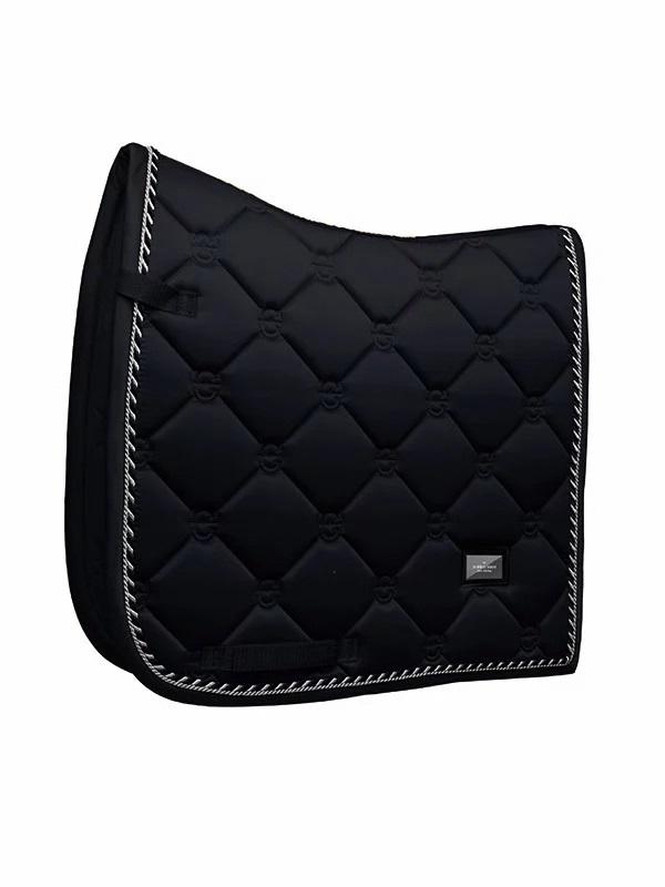 Equestrian Stockholm Dressage Saddle Pad Black Edition