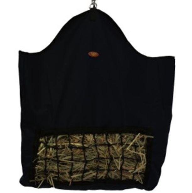 Fort Worth Slow Feeder Hay Bag Black