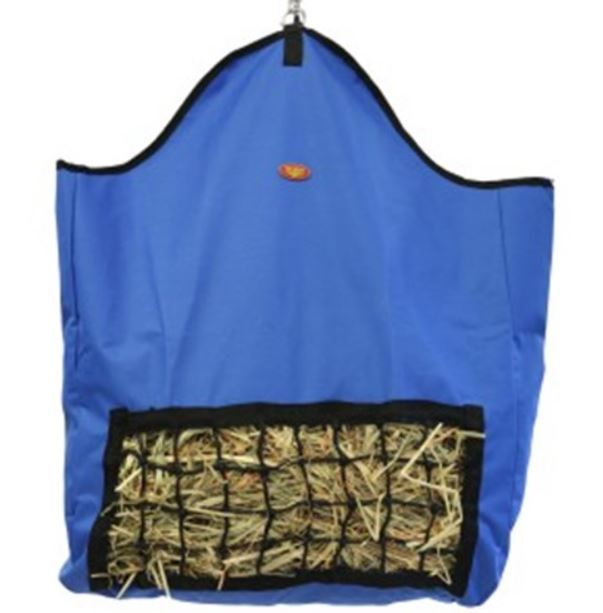 Fort Worth Slow Feeder Hay Bag Blue
