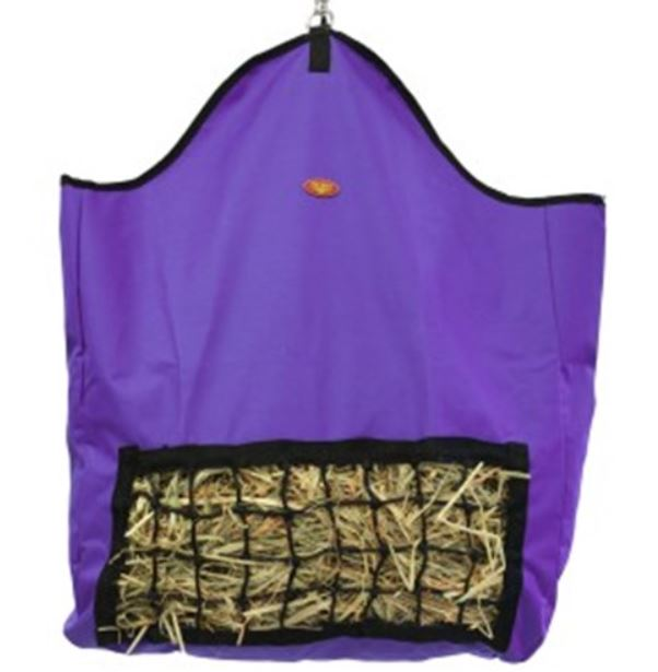 Fort Worth Slow Feeder Hay Bag Purple