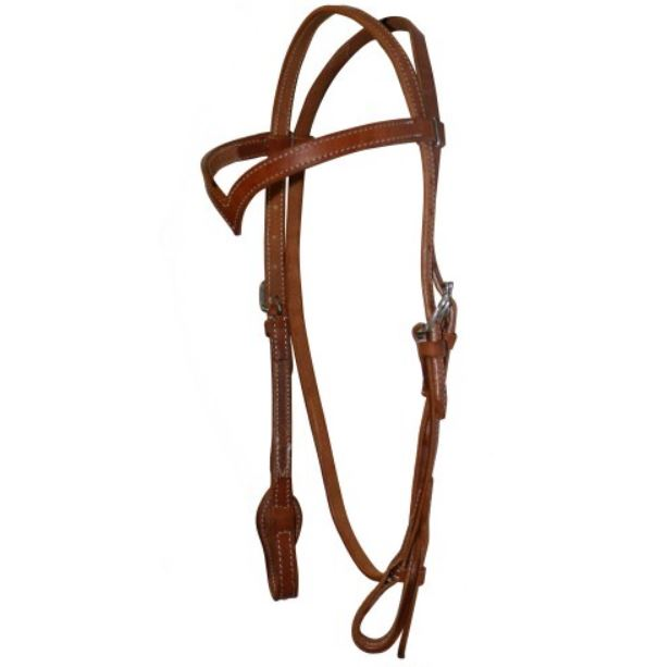 Fort Worth V Browband Harness Headstall