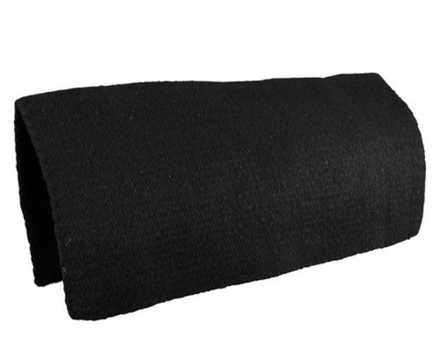 Fort Worth Woven Saddle Blanket Black