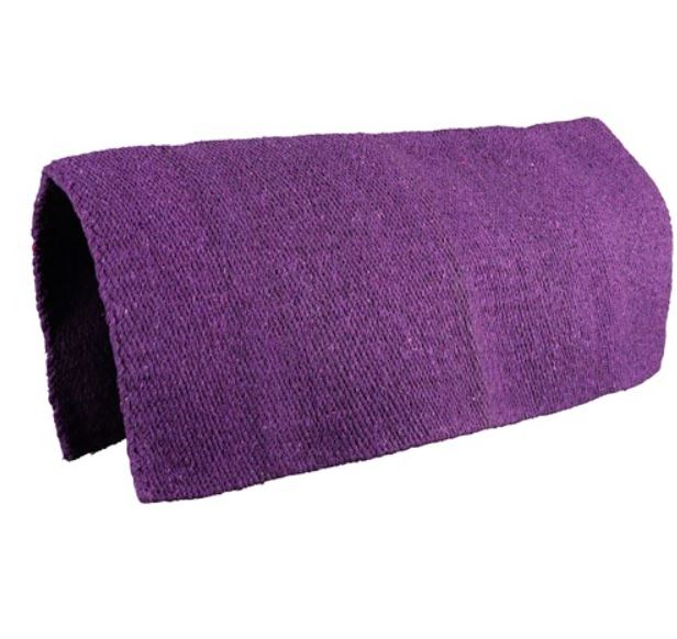Fort Worth Woven Saddle Blanket Purple