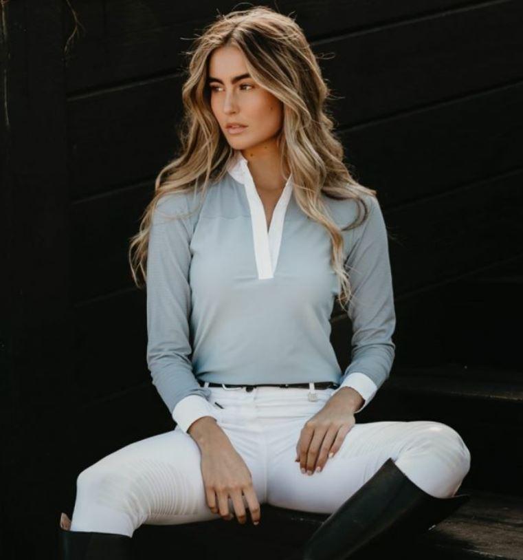 Hampton and Harlow Long Sleeve Show Shirt