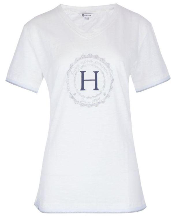 Harcour Havre Tee Shirt White
