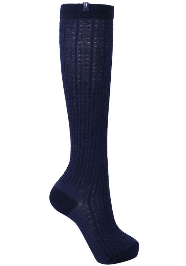 Harcour Argeles Socks 2 Pairs Navy