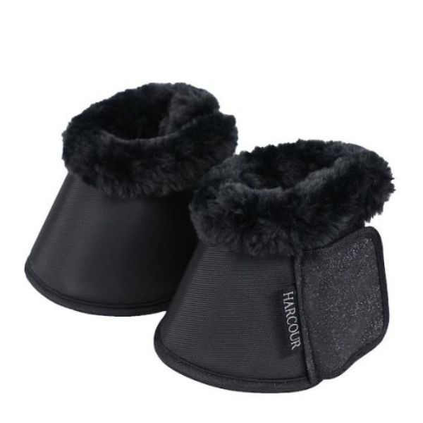 Harcour Belly Bell Boots Black