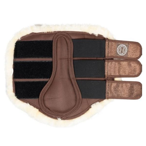 Harcour Cosmo Tendon Boots Brown