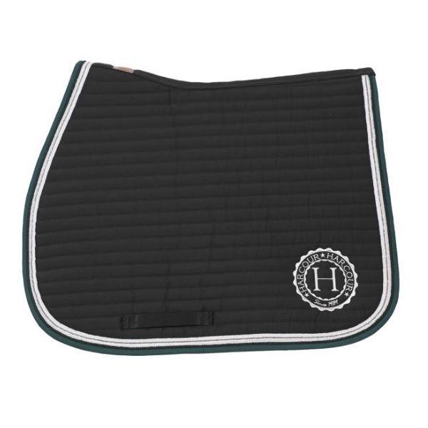 Harcour Indiana All Purpose Saddle Pad Black