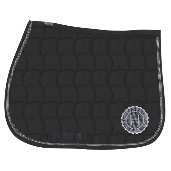 Harcour Nikita Dressage Saddle Pad Black
