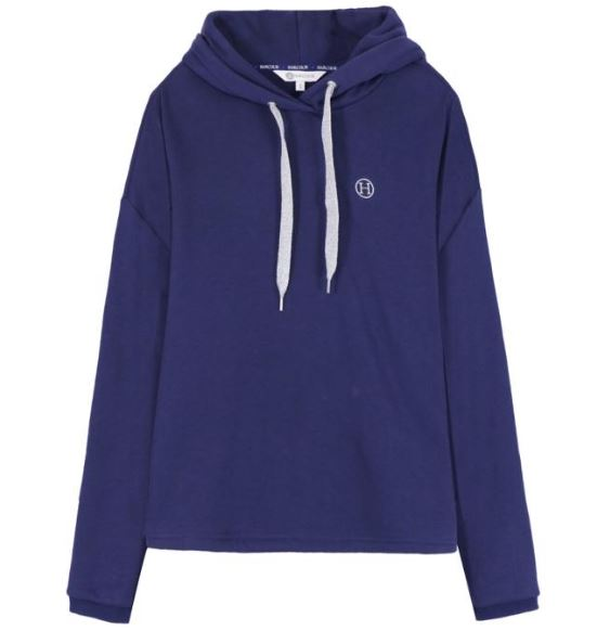 Harcour Palmyre Hoodie Navy