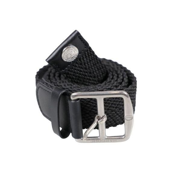 Harcour Plage Elastic Belt Black
