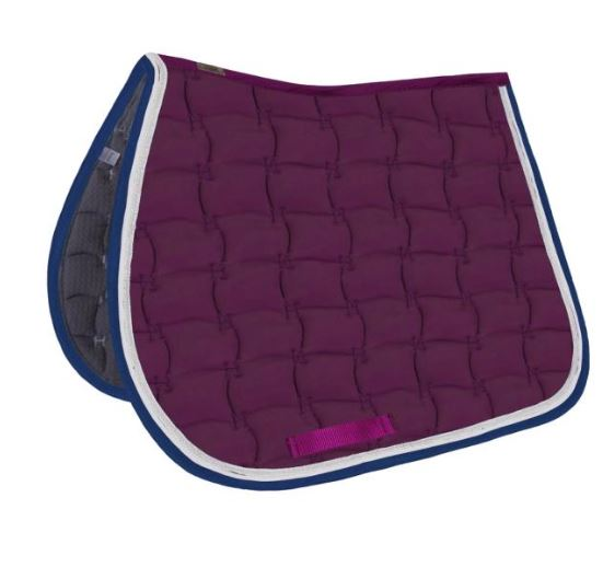 Harcour Selwyn Saddle Pad Blackberry