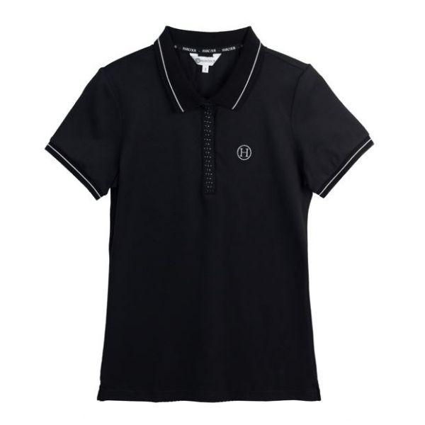 Harcour Scorpion Polo Shirt Black