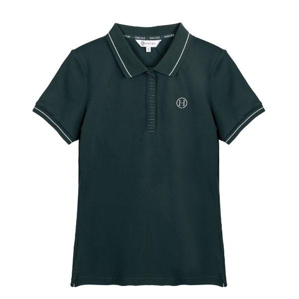 Harcour Scorpion Polo Shirt Jungle Green
