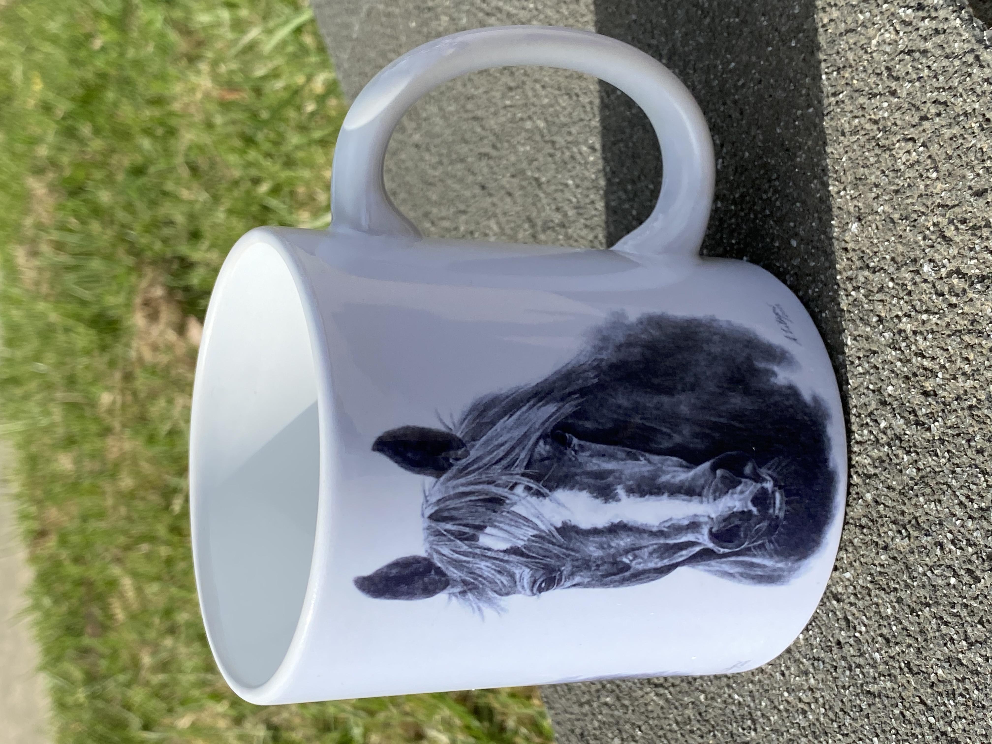 Amanda Lithgow Horse head Mug