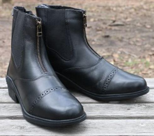 Huntington Ladies Zipper Boots