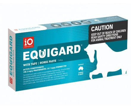 iO Equigard Tape Horse Paste