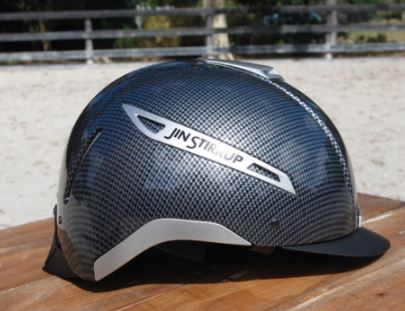 Jin Stirrup Carbon Look Helmet