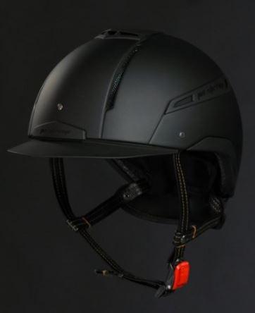 Jin Stirrup Mono Coloured Icona Helmet Matt Black
