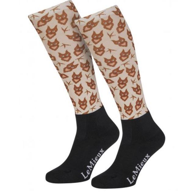 LeMieux Footsie Sock Owls