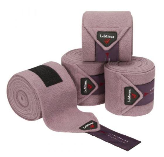 LeMieux Luxury Polo Bandage Set of 4 Musk