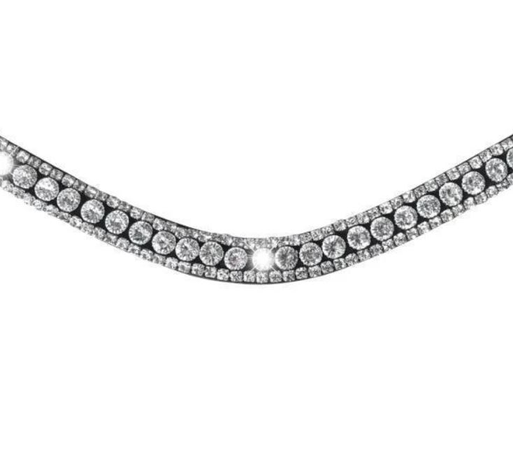 Lumiere Solitaire Crystal Browband