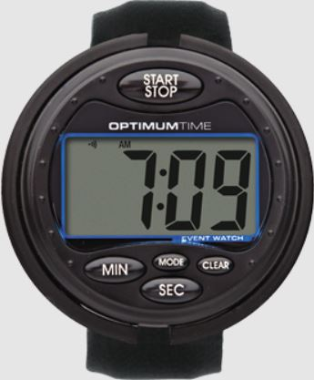 Optimum Time Ultimate Event Watch Black