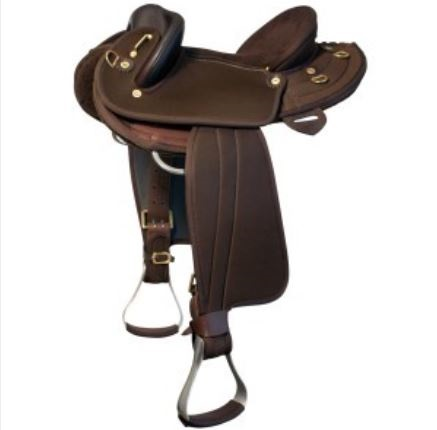 Ord River Youth Synthetic Half Breed Saddle