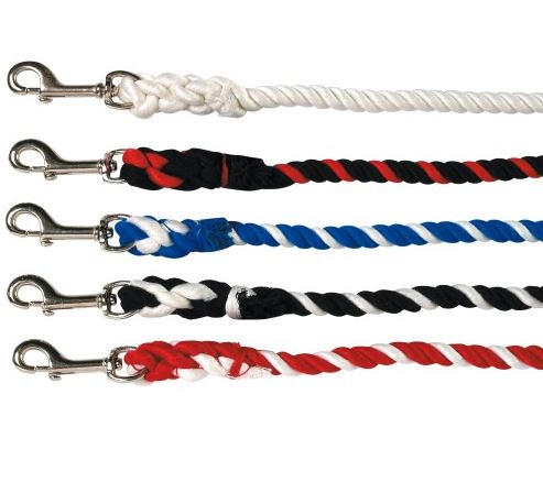 Poly Cotton Lead Rope with Small Snap