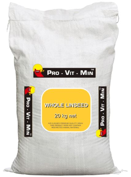 Pro Vitamin-Mineral Whole Linseeds