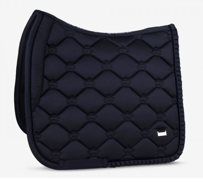 PS of Sweden Ruffle Dressage Saddle Pad Navy