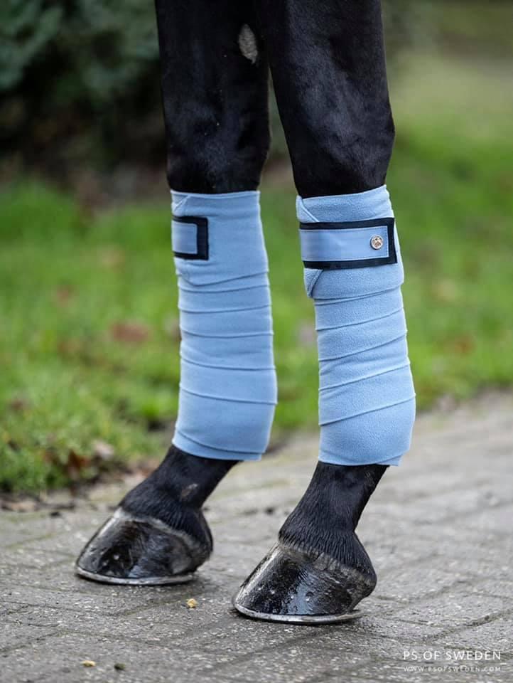 PS of Sweden Monogram Polo Bandages Blue