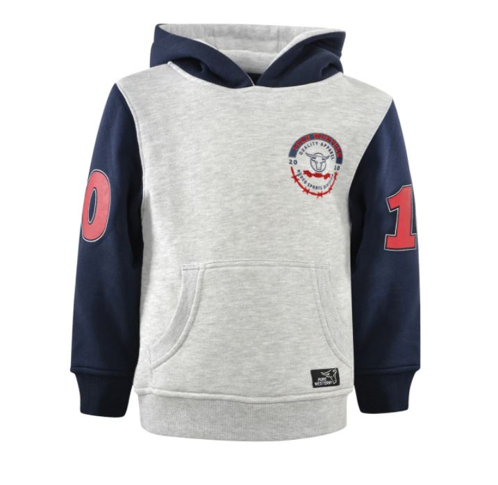 Pure Western Boys Statton Pull Over Hoodie