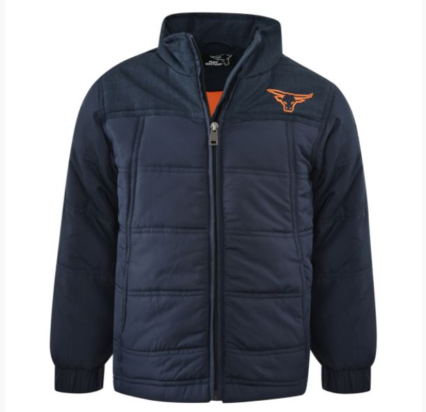 Pure Western Boys Tucker Puffer Jacket