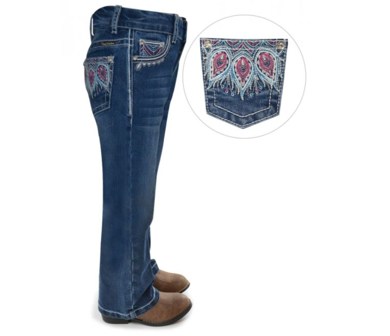 Pure Western Girls Belle Boot Cut Jean
