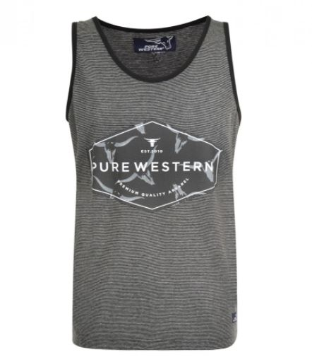 Pure Western Mens James Singlet