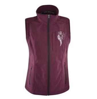 Pure Western Womens Angela Soft Shell Vest