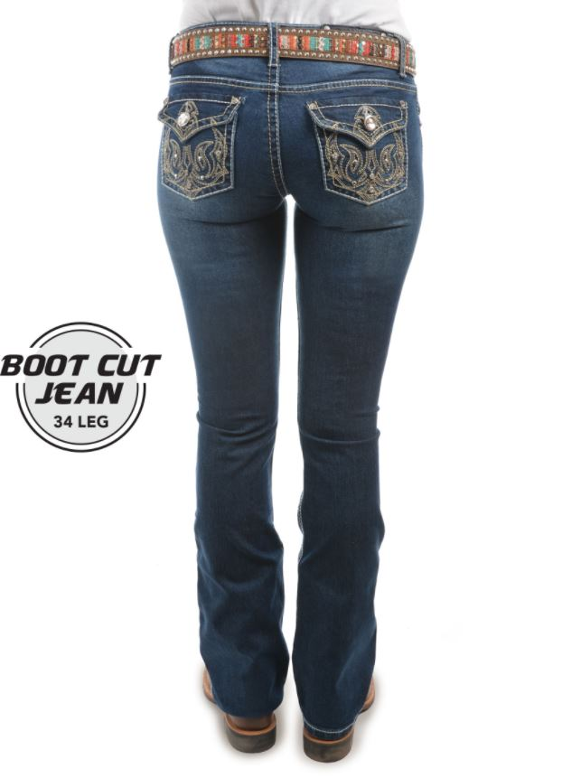 Pure Western Womens Trisha Boot Cut Jean