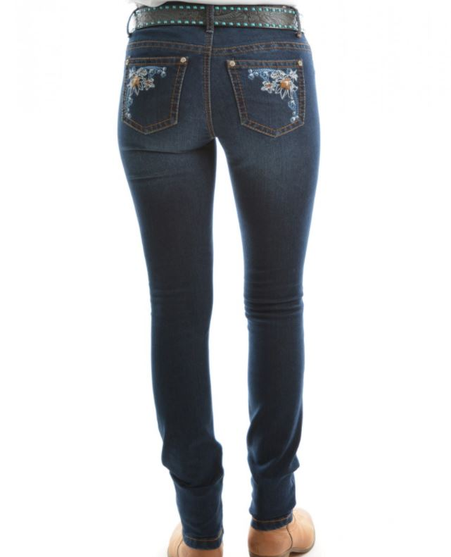 Pure Western Womens Willow Skinny Leg Jean