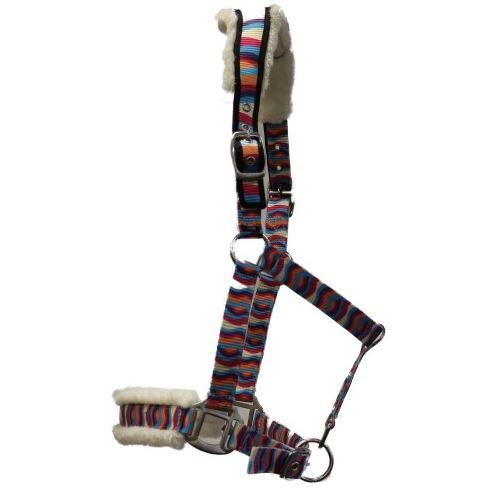 Rancher Fleece Lined Ear Relief Halter