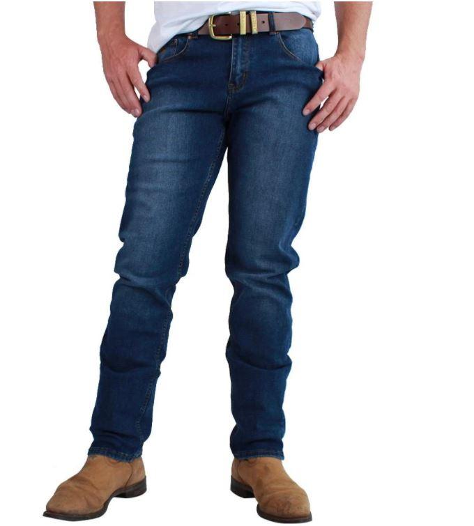 Ringers Mens Burke Slim Leg Western Jean