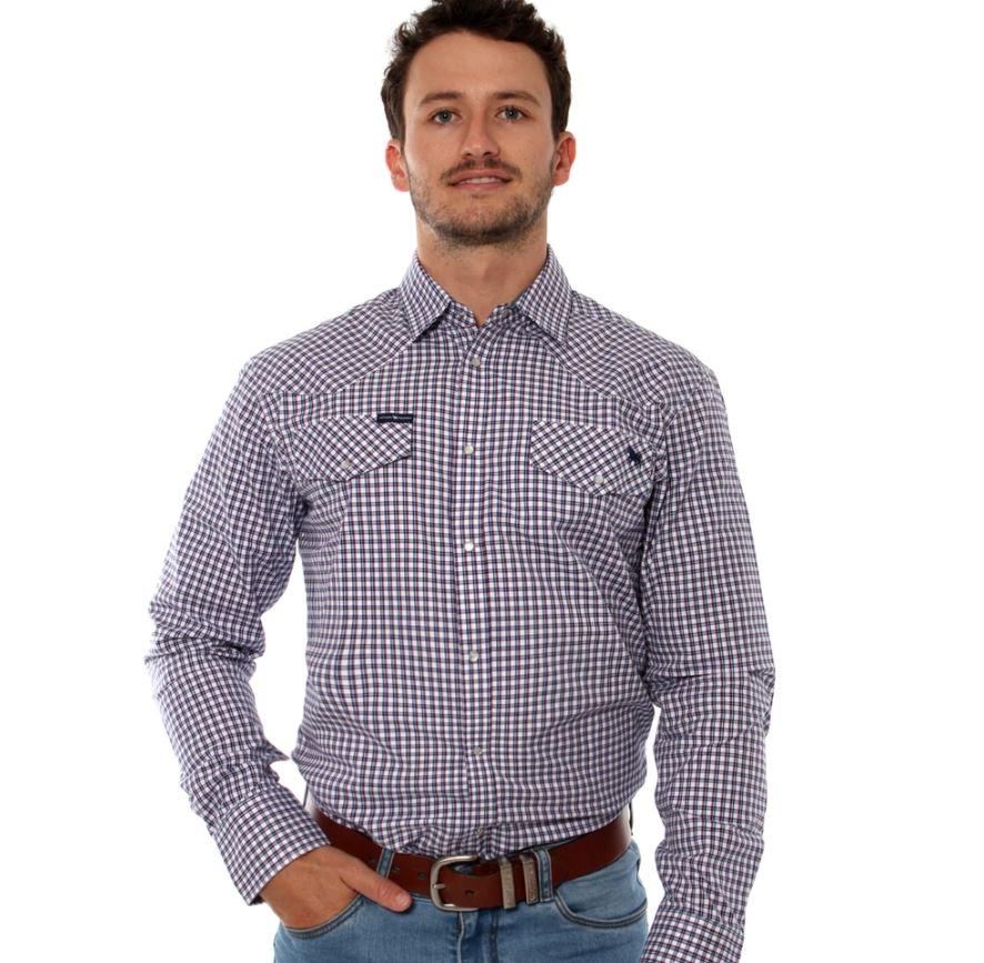 Wyoming Mens Western Shirt