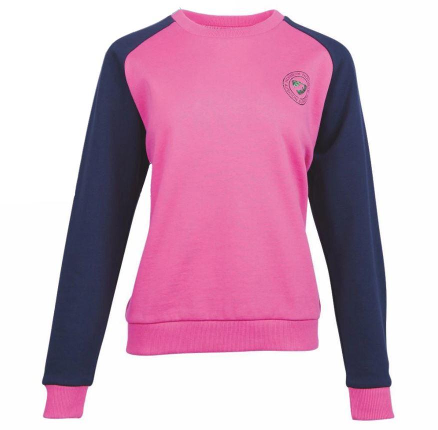 Shires Aubrion Boston Sweatshirt Pink