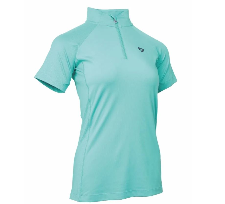 Shires Aubrion Highgate Shortsleeve Baselayer Teal